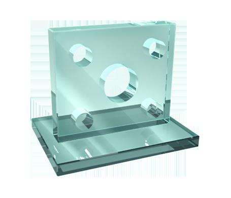 сверление стекол